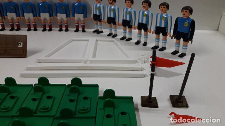 Airgam Boys: SELECCIONES DE ESPAÑA - FRANCIA - ARGENTINA CON ARBITRO Y COMPLEMENTOS . REALIZADOS POR AIRGAM BOYS - Foto 10 - 190752280