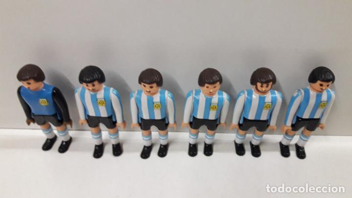 Airgam Boys: SELECCIONES DE ESPAÑA - FRANCIA - ARGENTINA CON ARBITRO Y COMPLEMENTOS . REALIZADOS POR AIRGAM BOYS - Foto 19 - 190752280