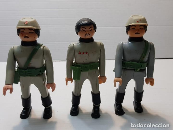FIGURAS AIRGAM BOYS LOTE 3 SERIE SOLDADOS JAPONESES (Juguetes - Figuras de Acción - Airgam Boys)