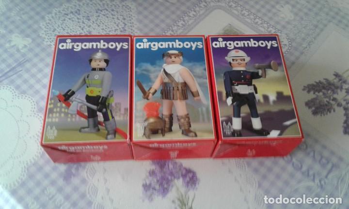 LOTE DE 3 AIGAM BOYS EN SU CAJA ORIGINAL Y SIN ABRIR (Juguetes - Figuras de Acción - Airgam Boys)