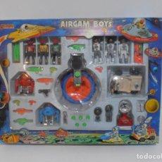 Airgam Boys: AIRGAM BOYS, CAJA REF 37605, 3 ASTRONAUTAS, 3 RED PLANET, ROVER LUNAR, CAÑON AIRGAMBOYS, SPACE. Lote 194184103