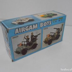 Airgam Boys: CAJA VACIA AIRGAMBOYS, JEEP BLANCO REF 00224, AIRGAM BOYS, SERIE SPACE. Lote 194334073