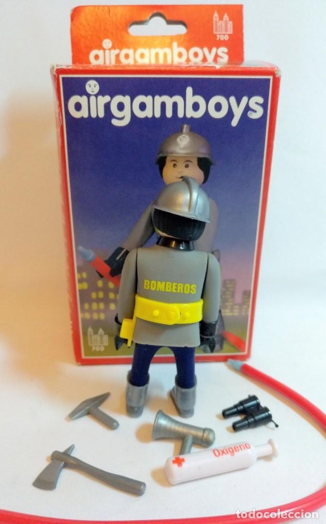 Airgam Boys: Muñecos Airgam boys Nº8 Bombero - Foto 3 - 194528277