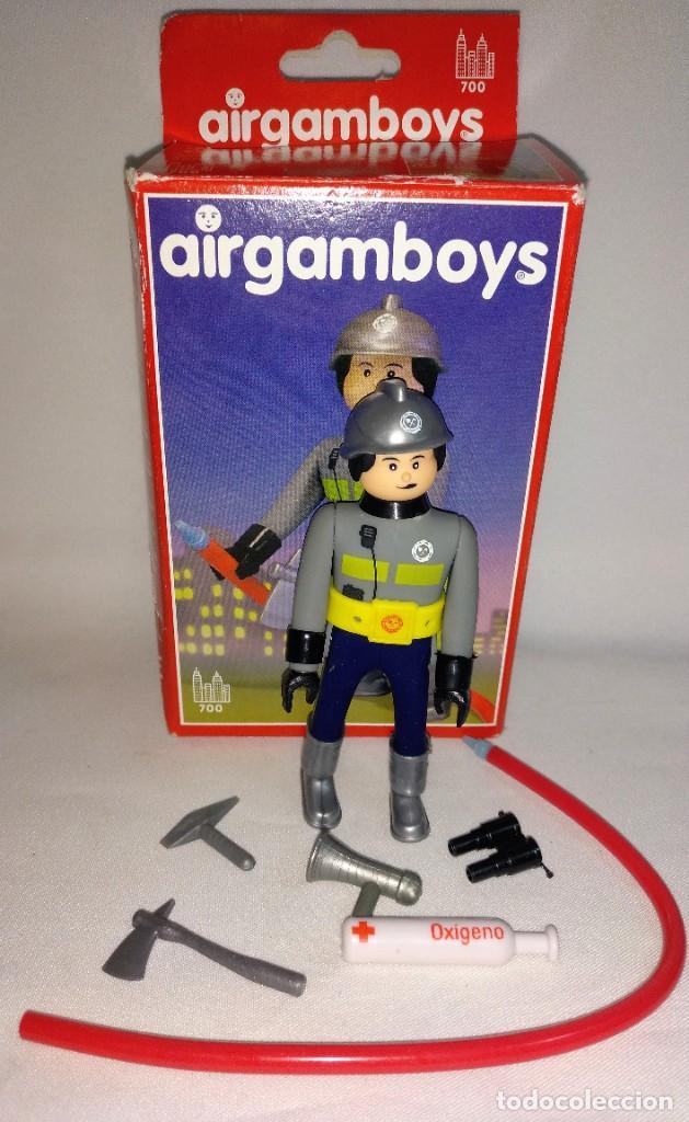 Airgam Boys: Muñecos Airgam boys Nº8 Bombero - Foto 5 - 194528277