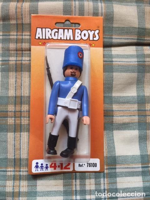 AIRGAM BOY,- GUERRAS NAPOLEÓNICAS:: SOLDADO FRANCÉS (Juguetes - Figuras de Acción - Airgam Boys)