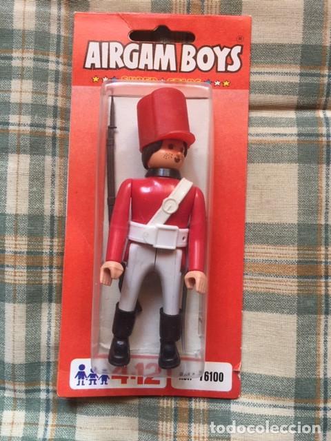 AIRGAM BOY - GUERRAS NAPOLEÓNICAS:: SOLDADO INGLÉS (Juguetes - Figuras de Acción - Airgam Boys)
