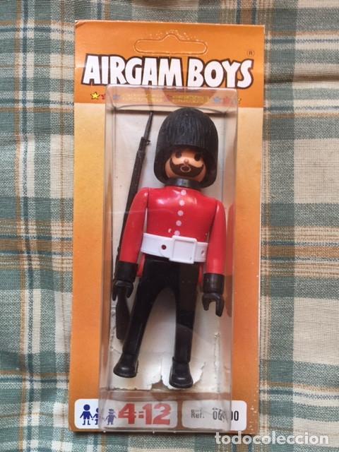 AIRGAM BOY - GUERRAS NAPOLEÓNICAS:: SOLDADO INGLÉS GUARDIA REAL (Juguetes - Figuras de Acción - Airgam Boys)