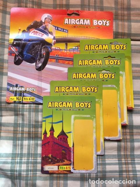 AIRGAM BOYS - LOTE BLISTERS (Juguetes - Figuras de Acción - Airgam Boys)