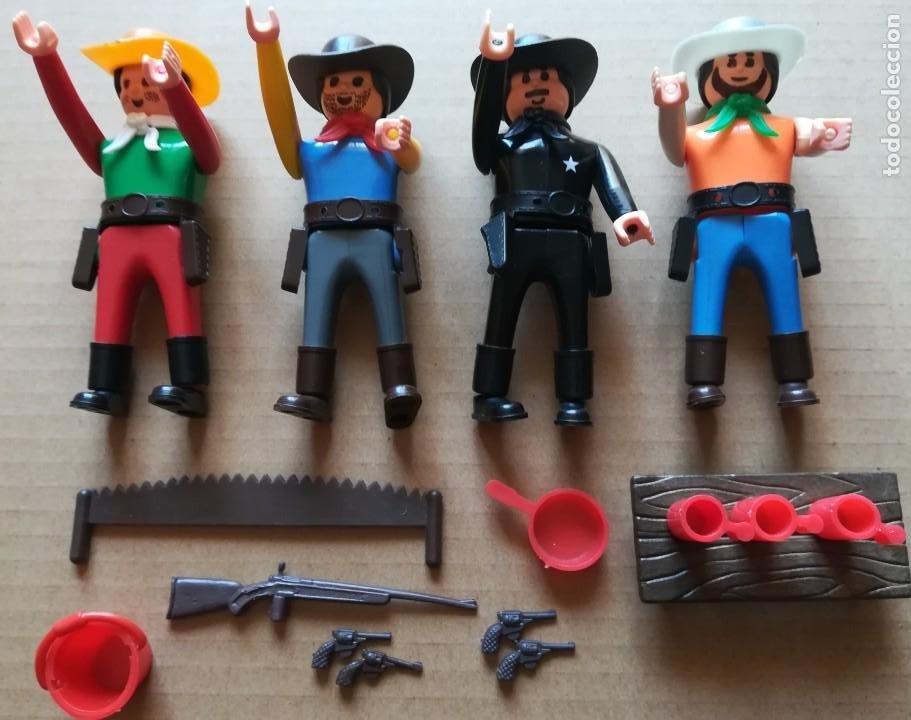 FIGURAS AIRGAM BOYS - SERIE OESTE - SHERIFF Y VAQUEROS AIRGAMBOYS (Juguetes - Figuras de Acción - Airgam Boys)
