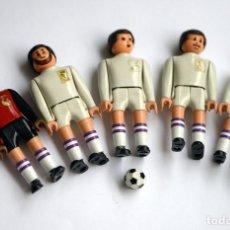 Airgam Boys: LOTE 5 FUTBOLISTAS DEL REAL MADRID - AIRGAMBOYS AIRGAM BOYS. Lote 218399178