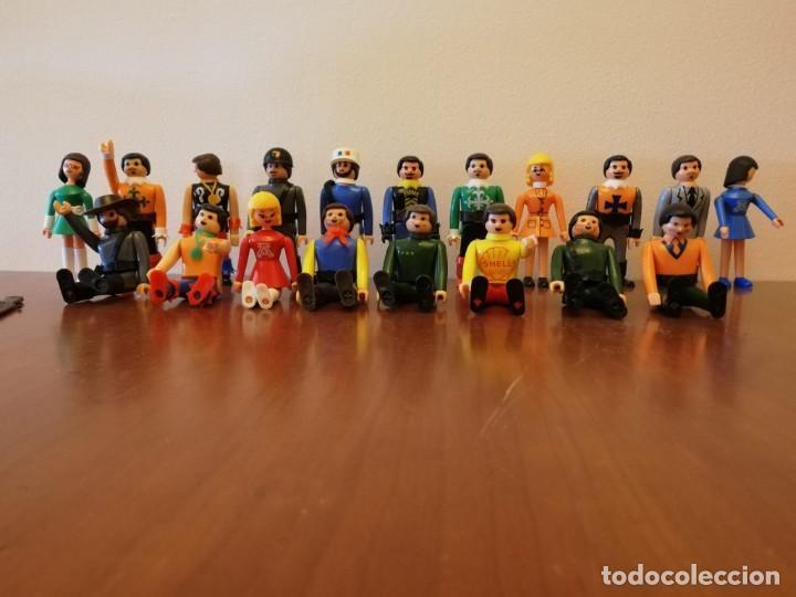 LOTE 19 MUÑECOS AIRGAM BOYS + ACCESORIOS (ARMAS, ESPADAS, SOMBREROS...) (Juguetes - Figuras de Acción - Airgam Boys)