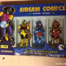 Airgam Boys: AIRGAM BOYS SUPER FANTASTICS COMICS CAJA NUEVA SIN ABRIR!!!! REF 1302. Lote 213950447