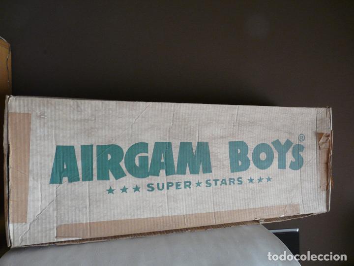 Airgam Boys: AIRGAM BOYS SUPER STARS SALOON REF. 00101 EN CAJA. ORIGINAL AÑOS 70/80 OESTE - AIRGAMBOYS - Foto 3 - 214170480