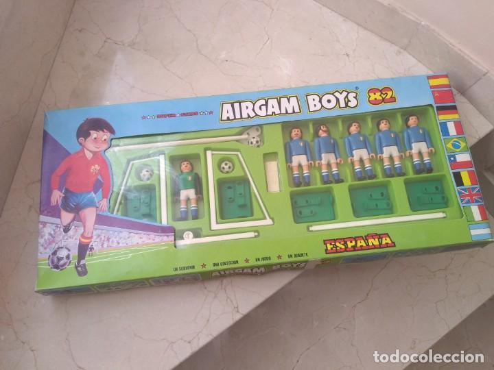 AIRGAMBOYS CAMPEONA DEL MUNDO ITALIA 1982. AIRGAM BOYS (Juguetes - Figuras de Acción - Airgam Boys)