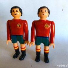 Airgam Boys: AIGAM BOYS FUTBOLISTAS ESPAÑA - SELECCIÓN ESPAÑOLA Nº 7 Y Nº 8 - ESCUDO PRECONSTITUCIONAL (ÁGUILA). Lote 215722322