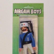 Airgam Boys: AIRGAM BOYS AIRGAMBOYS BLISTER SOLDADO FRANCÉS LEGIÓN EXTRANJERA FRANCESA. NUEVO A ESTRENAR.. Lote 217342065