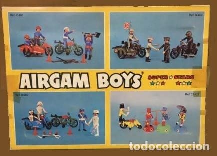 Airgam Boys: AIRGAMBOYS AIRGAM CIRCUS SUPER STARS NUEVO EN CAJA. REF 33402.DOMADOR, PAYASO, MOTO - Foto 2 - 253275990