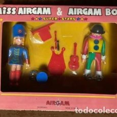 Airgam Boys: AIRGAMBOYS MISS AIRGAM CIRCUS SUPER STARS NUEVO EN CAJA AÑOS 70. Lote 217808525
