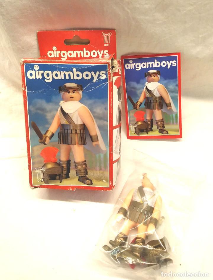 JULIO CÉSAR SERIE ROMA AIRGAMBOYS REF 001 (Juguetes - Figuras de Acción - Airgam Boys)