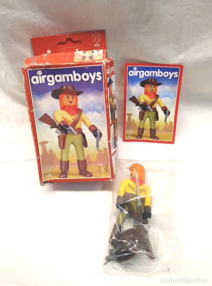 BUFALO BILL OESTE AIRGAMBOYS REF 402 (Juguetes - Figuras de Acción - Airgam Boys)