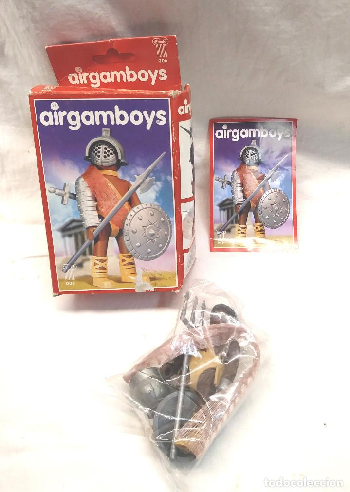 GLADIADOR SERIE ROMA AIRGAMBOYS REF 006 (Juguetes - Figuras de Acción - Airgam Boys)