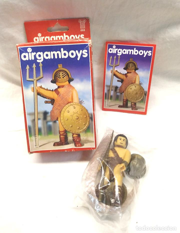 GLADIADOR SERIE ROMA AIRGAMBOYS REF 005 (Juguetes - Figuras de Acción - Airgam Boys)