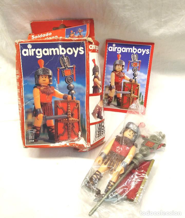 LEGIONARIO ROMANO SERIE ROMA AIRGAMBOYS REF 004 (Juguetes - Figuras de Acción - Airgam Boys)