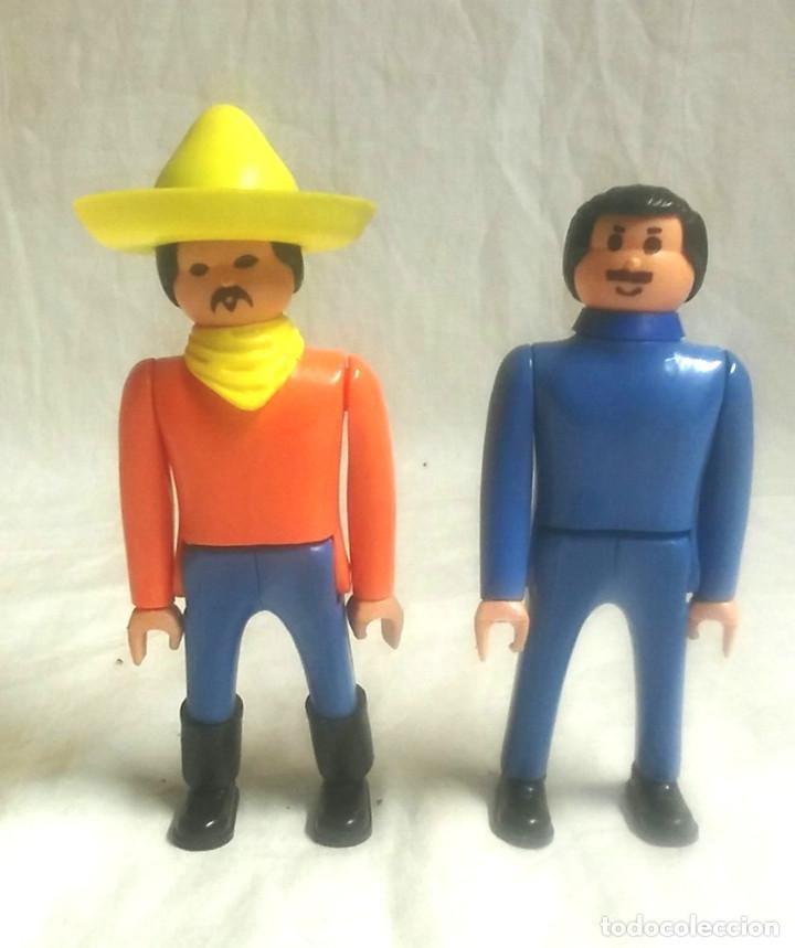 2 FIGURAS AIRGAM BOYS MEJICANOS (Juguetes - Figuras de Acción - Airgam Boys)
