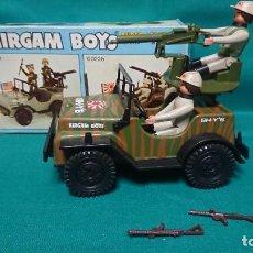 Airgam Boys: AIRGAMBOYS - JEEP MILITAR JAPONÉS EN CAJA ORIGINAL REFERENCIA 00226 - AÑO 1975 - AIRGAM BOYS. Lote 224243093