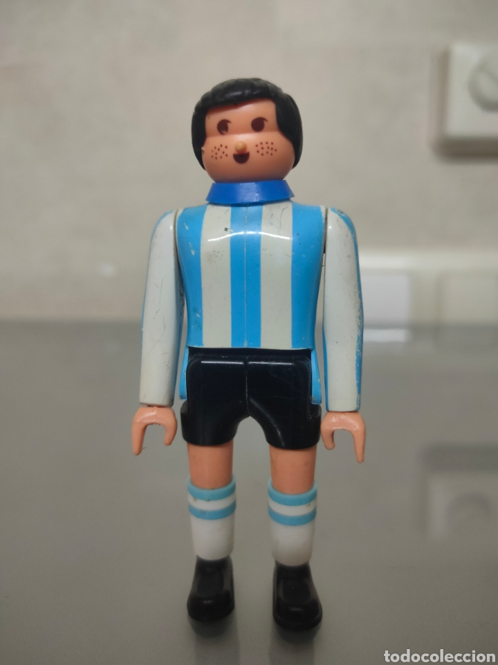 ANTIGUO AIRGAMBOYS MARADONA N° 10 SELECCION ARGENTINA (Juguetes - Figuras de Acción - Airgam Boys)