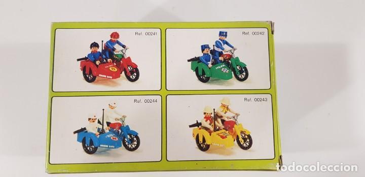 Airgam Boys: AIRGAM BOYS MOTO CON SIDECAR ENFERMEROS Ref. 00244 - AIRGAM 1979 - NUEVA - ¡¡¡EXCELENTE!!! - Foto 4 - 231512325