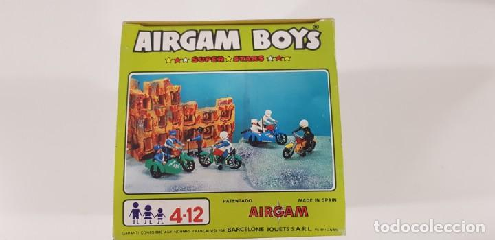 Airgam Boys: AIRGAM BOYS MOTO CON SIDECAR ENFERMEROS Ref. 00244 - AIRGAM 1979 - NUEVA - ¡¡¡EXCELENTE!!! - Foto 5 - 231512325