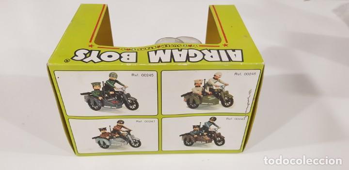 Airgam Boys: AIRGAM BOYS MOTO CON SIDECAR ENFERMEROS Ref. 00244 - AIRGAM 1979 - NUEVA - ¡¡¡EXCELENTE!!! - Foto 6 - 231512325