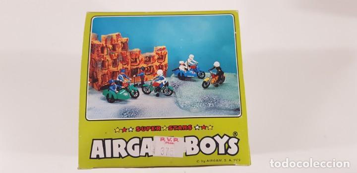 Airgam Boys: AIRGAM BOYS MOTO CON SIDECAR ENFERMEROS Ref. 00244 - AIRGAM 1979 - NUEVA - ¡¡¡EXCELENTE!!! - Foto 7 - 231512325
