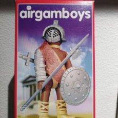 Airgam Boys: FIGURA AIRGAMBOY GLADIADOR ROMANO (ROMANOS) REFERENCIA 006 (NEW TOYS). REEDICIÓN MODERNA.. Lote 232059690