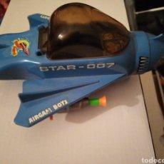 Airgam Boys: NAVE STAR-007 AIRGAM BOYS AÑOS 70 MUY BUENA MISILES INCLUIDOS. Lote 233898290