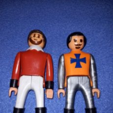 Airgam Boys: 2 FIGURAS AIRGAMBOYS SOLDADOS MEDIEVALES AÑOS 70.. Lote 235806415