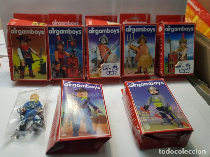 AIRGAM BOYS LOTE 7 DISTINTOS EN CAJA ORIGINAL VER RELACIÓN (Juguetes - Figuras de Acción - Airgam Boys)
