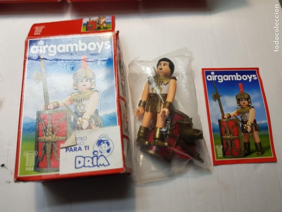 Airgam Boys: Airgam Boys lote 7 distintos en caja original ver relación - Foto 3 - 237548365
