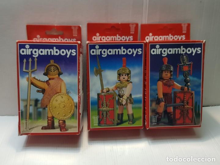 AIRGAM BOYS LOTE 3 DISTINTOS EN CAJA ORIGINAL VER RELACIÓN (Juguetes - Figuras de Acción - Airgam Boys)