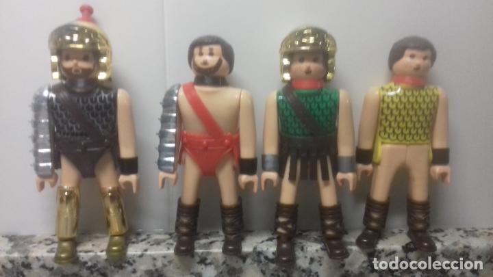 4 AIRGAM BOYS ANTIGUOS (Juguetes - Figuras de Acción - Airgam Boys)
