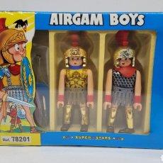 Airgam Boys: CAJA AIRGAM BOYS ROMANOS REF 78201. AIRGAMBOYS. NUEVA DE FABRICA. PRECINTADA. EXCELENTE ESTADO.. Lote 243537125