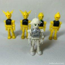 Airgam Boys: LOTE 5 FIGURAS COMANBOYS - AIRGAM BOYS - ROBOT AMARILLO - COSMO PIRATAS DEL ESPACIO. Lote 243633680