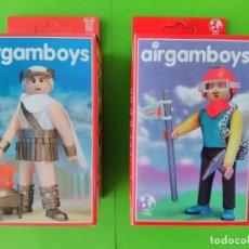Airgam Boys: LOTE 2 AIRGAM BOYS AIRGAMBOYS - JULIO CESAR 001 , ESCALADOR 900 - LEER DETALLE!!! - ERICTOYS. Lote 252007165