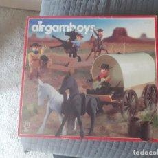 Airgam Boys: AIRGAM BOYS SERIE OESTE. NUEVA GENERACIÓN. VAQUEROS CON CARRETA REF. 407. Lote 254727760