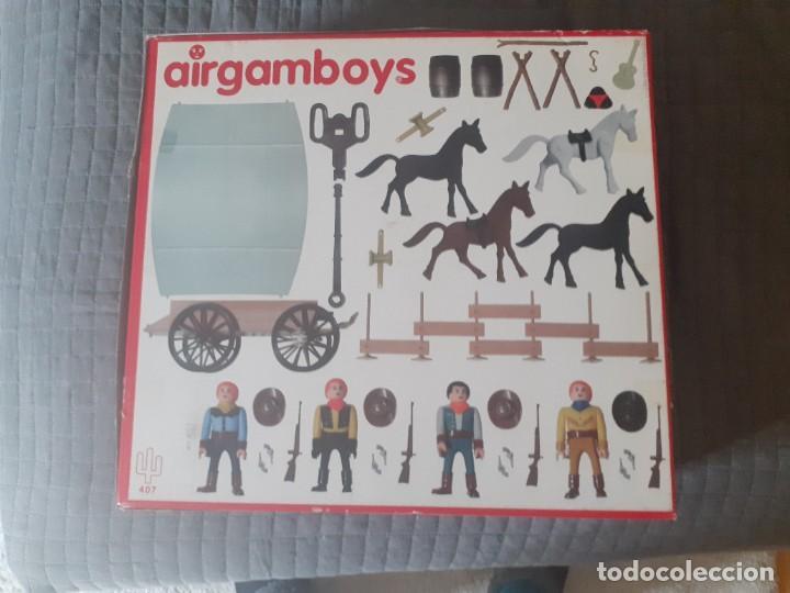 Airgam Boys: Airgam boys serie oeste. nueva generación. Vaqueros con carreta Ref. 407 - Foto 4 - 254727760