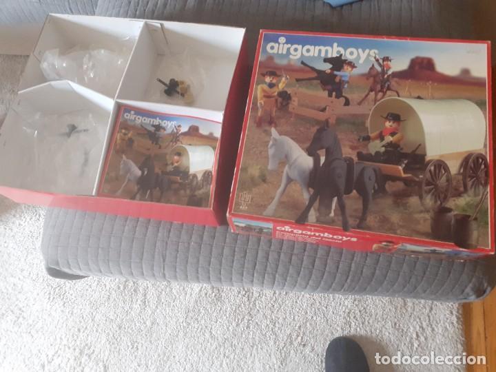 Airgam Boys: Airgam boys serie oeste. nueva generación. Vaqueros con carreta Ref. 407 - Foto 5 - 254727760
