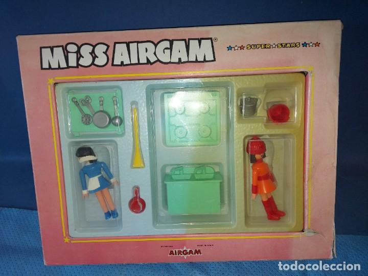 AIRGAM BOYS, MISS AIRGAM COCINA REF. 59202 (Juguetes - Figuras de Acción - Airgam Boys)