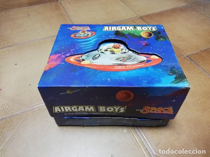 AIRGAM BOYS ESPACIO, SPACE, NAVE PLATILLO VOLANTE, REF. 00293, CAJA VACIA. (Juguetes - Figuras de Acción - Airgam Boys)