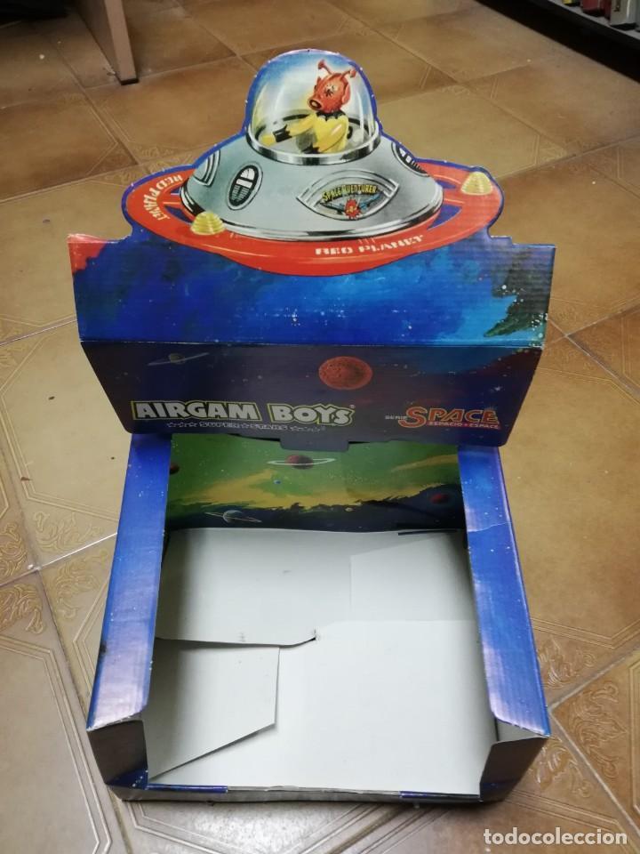 Airgam Boys: AIRGAM BOYS ESPACIO, SPACE, NAVE PLATILLO VOLANTE, REF. 00293, CAJA VACIA. - Foto 2 - 282458993